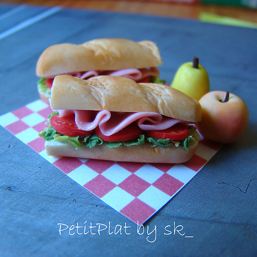Miniature Food Sandwiches for Blythe