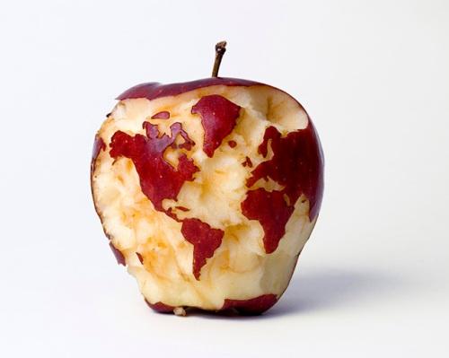 Apple Globe, 2007