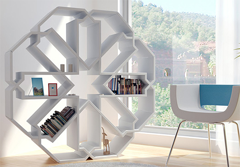 Contemporary-Bookcase