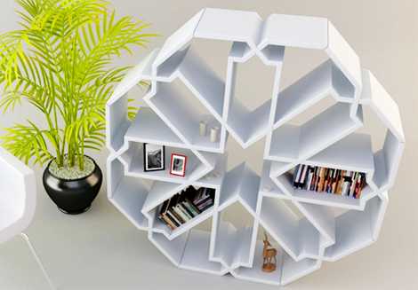 Contemporary-Bookcase-