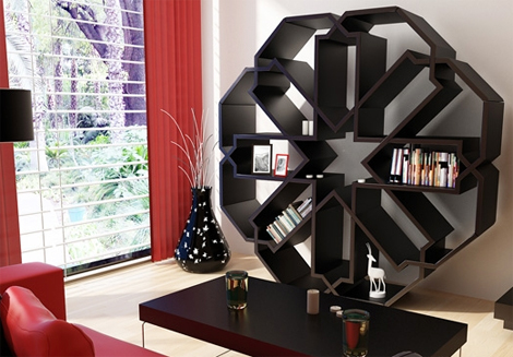 Contemporary-Bookcase--