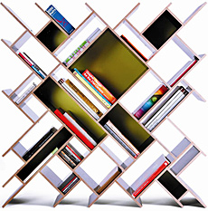 Quad-Bookcase